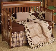 Western Boy Crib Bedding Western Bedding 4 Baby Cowhide Crib Bedding Set Lone