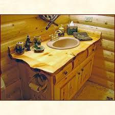 Log Vanity Custom Built Wood Bath Vanities Rustic And Traditional Styles