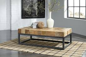 Ashley Furniture End Tables Prinico Coffee Table T943 By Ashley Furniture Solid Mango Wood