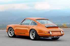 porsche 911 vintage rear 3 4 of singer porsche 911 brought to you by agents at