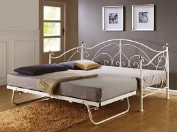 luxury white metal twin bed for modern bedroom decoration modern