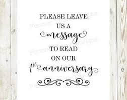 wedding msg message in a bottle sign etsy