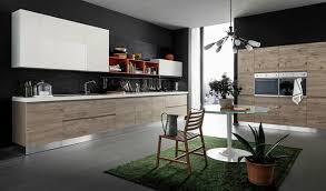 Italian Kitchen Cabinets Miami Italian Kitchen Cabinets By Effequattro Cucine Model Wave