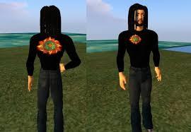 second marketplace aztec sun god and t shirt
