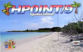 iguana island n3fhw hp0int 9 iguana island dxpedition qsl card n3fhw