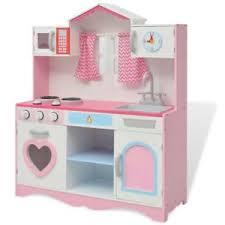 jouet de cuisine pour fille vidaxl cuisine jouet pour enfants filles garçons 82x30x100 cm bois