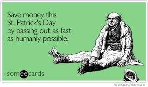 Funny St Patricks Day Meme - birthday on st patrick s day meme free template