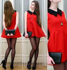 ariadna majewska h u0026m black bag embis black heels red dress