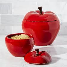 apple canisters crate and barrel