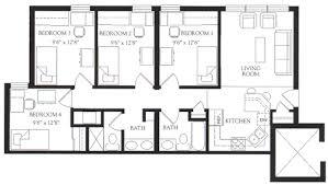 Apartments Floor Plan Housing U0026 Residence Life Prospective Residents