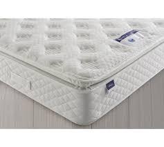 buy silentnight geltex comfort sprung pillowtop double mattress at