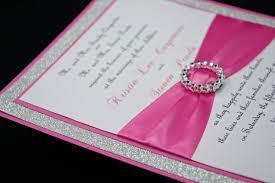 Make Wedding Invitation Cards Bling Wedding Invitations Kawaiitheo Com