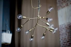 Wire Chandeliers 20 Diy Chandeliers To Brighten Up Your Space Brit Co