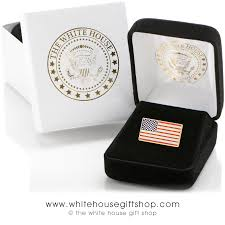 House Gift President Obama Flag Pin From The White House Gift Shop Est 1946