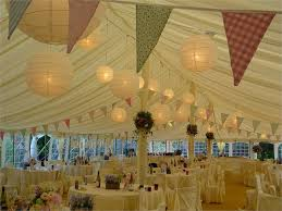 Wedding Drape Hire Paper Lantern Canopy In A Marquee From Fairy Lights U0026 Drape Hire