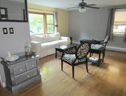 accent color for gray walls home decorating inspiration
