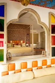indian heritage interiors meets age design orange
