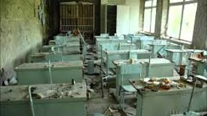 chernobyl ghost town abandoned houses schools and hopsitals