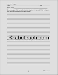 book report template middle school 25 images of middle school alphabet book template tonibest