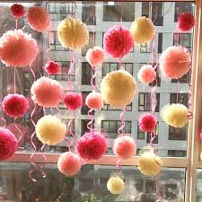 where to buy tissue paper paper flower pom poms handmade flowers with crepe paper and pom