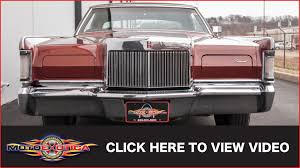 1970 lincoln continental mark iii sold youtube