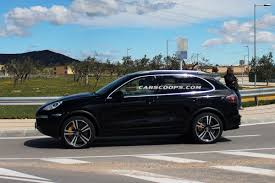 Porsche Cayenne Facelift - scoop 2015 porsche cayenne facelift pictured for the first time