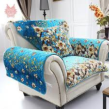 blue floral sofa covers