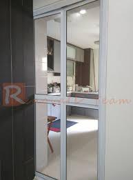 Aluminium BiFold Toilet Door Promotion For HDB BTO And ReSale - Bifold kitchen cabinet doors