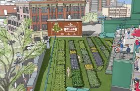 urban agriculture boston fenway park opens rooftop garden
