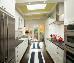Range Hood Cathedral Ceiling by Sink Without Window Kitchen Transitional With Cathedral Ceiling