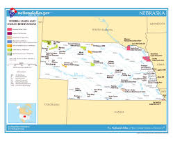State Abbreviations Map by Maps Of Nebraska State Collection Of Detailed Maps Of Nebraska