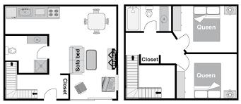 2 bedroom condo floor plans banff rocky mountain resort two bedroom condo