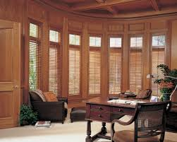 heritance hingedpanel office peninsula window coverings