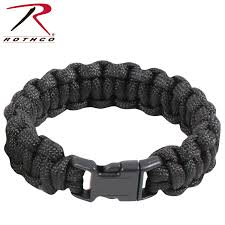 black survival bracelet images Rothco solid color paracord bracelet jpg