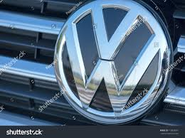 volkswagen wolfsburg emblem romaniaseptember 2 2017volkswagen logo on september stock photo