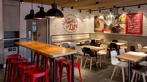 fast food design trends updating colonel sanders and the fast