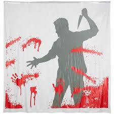 Blood Shower Curtain 12 Blood Themed Decorating Gadgets Neatologie