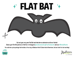the austin adventures of flat bat and a hotel giveaway free