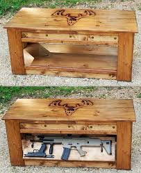 coffee table gun cabinet coffee table coffee table gun cabinet roughly weathered