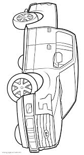 print free pickup truck coloring pages