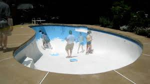 time lapse video of pool painting youtube