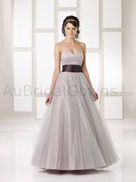 graceful entrancing wedding party dresses fall 2012 bridal party