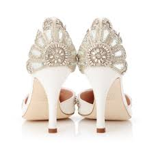 wedding shoes ivory cecile ivory bridal shoe vintage luxury for modern brides emmy