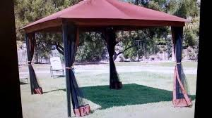 gazebo mosquito netting ebay 10 x 12 regency patio canopy gazebo mosquito net netting