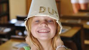 How To Make A Dunce Cap Out Of Paper - how do you make a dunce cap reference