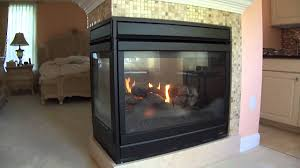 lennox hearth products three sided fireplace model edvpf youtube
