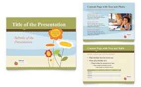 child development powerpoint presentation powerpoint template
