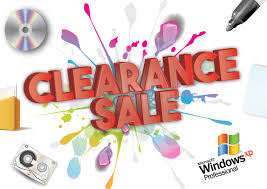 items on clearance sale