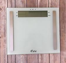 Weight Watchers Bathroom Scale Battery Curves Weight Watchers Bathroom Scale By Conair V24130 Ebay