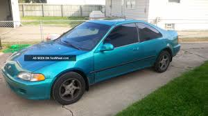 Honda Civic 1993 Honda Civic 1 6 1993 Technical Specifications Interior And